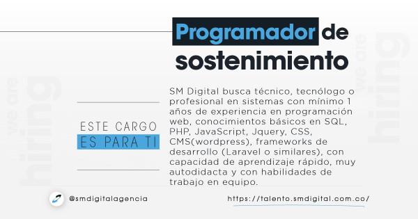 Programador de sostenimiento