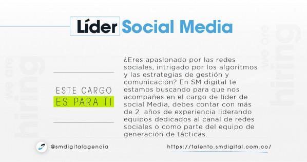 Líder de social media