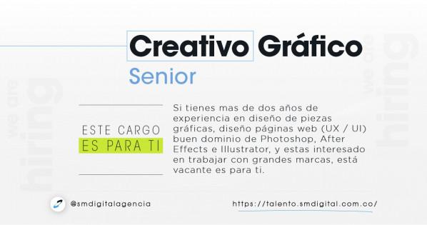 Creativo gráfico senior