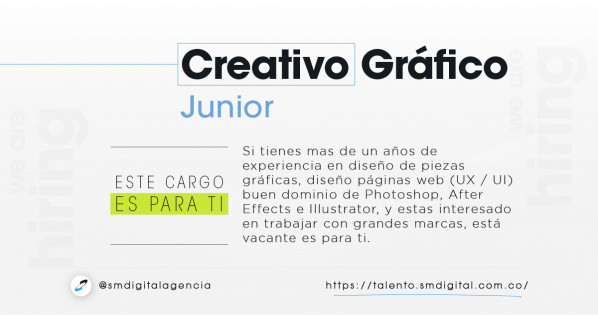 Creativo grafico junior